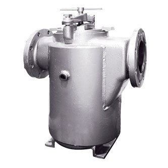 Eaton Model 72SJ, Steam Jacketed Basket Strainer
